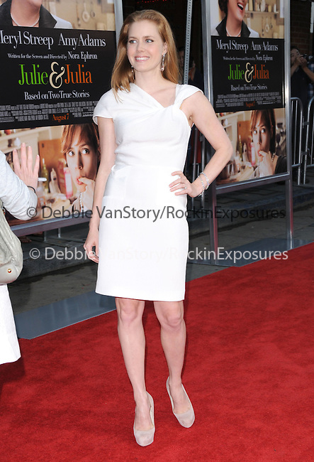 Amy Adams at The Columbia Pictures' Screening of  Julie & Julia held at The Mann's Village Theatre in Westwood, California on July 27,2009                                                                   Copyright 2009 Debbie VanStory / RockinExposures