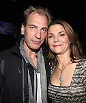 Julian Sands & Kathryn Erbe attending the Opening Celebration for 'Checkers' at the Vineyard Theatre in New York City on 11/11/2012