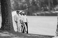 Shane Lowry (IRL) on the 13th fairway during Wednesdays preview at the The Masters , Augusta National, Augusta, Georgia, USA. 10/04/2019.<br /> Picture Fran Caffrey / Golffile.ie<br /> <br /> All photo usage must carry mandatory copyright credit (&copy; Golffile | Fran Caffrey)
