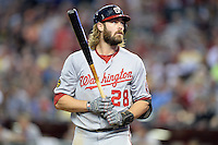 Washington Nationals outfielder Jayson Werth (28) during a game against the Arizona Diamondbacks at Chase Field on September 28, 2013 in Phoenix, Arizona.  Washington defeated Arizona 2-0.  (Mike Janes/Four Seam Images)