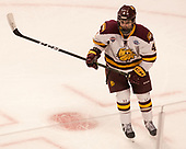 Neal Pionk (UMD - 4) - The University of Minnesota Duluth Bulldogs defeated the Harvard University Crimson 2-1 in their Frozen Four semi-final on April 6, 2017, at the United Center in Chicago, Illinois.