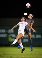 Stanford, CA - October 3, 2019: Maya Doms at Laird Q Cagan Stadium. The Stanford Cardinal beat the Washington State Cougars 5-0.