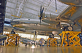 """Chantilly, Virginia - December 5, 2003 -- Front section of the Boeing B-29 Stratofortress """"Enola Gay"""" on exhibit at the Steven F. Udvar-Hazy Center of the National Air and Space Museum.  This plane was used in the first nuclear attack in combat on Hiroshima, Japan on August 6, 1945.  Its pilot, Colonel Paul Tibbets named the plane in honor of his mother, Enola Gay, and had the words painted on the side of the plane just before takeoff..Credit:  Ron Sachs / CNP.(RESTRICTION: NO New York or New Jersey Newspapers or newspapers within a 75 mile radius of New York City)"""