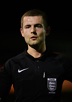 Referee Sam Kane<br /> <br /> Photographer Chris Vaughan/CameraSport<br /> <br /> The FA Youth Cup Second Round - Lincoln City U18 v South Shields U18 - Tuesday 13th November 2018 - Sincil Bank - Lincoln<br />  <br /> World Copyright © 2018 CameraSport. All rights reserved. 43 Linden Ave. Countesthorpe. Leicester. England. LE8 5PG - Tel: +44 (0) 116 277 4147 - admin@camerasport.com - www.camerasport.com