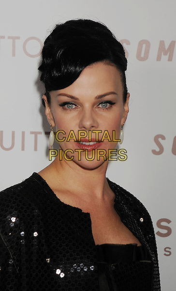 "DEBI MAZAR .Arriving at the Los Angeles premiere of ""Somewhere"" at ArcLight Cinemas, Hollywood, California, USA, .December 7th, 2010..portrait headshot black sequined sequin .CAP/ROT/TM.©Tony Michaels/Roth Stock/Capital Pictures"