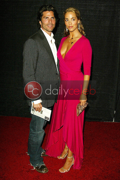 Greg Lauren and Elizabeth Berkley<br />