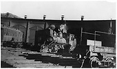 RGS class 60 locomotive at Durango roundhouse.<br /> RGS  Durango, CO