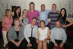 Michael Carter with his girlfriend Sarah Dyas and his family at his 21st in The Star and Crescent....Photo NEWSFILE/Jenny Matthews.(Photo credit should read Jenny Matthews/NEWSFILE)....This Picture has been sent you under the condtions enclosed by:.Newsfile Ltd..The Studio,.Millmount Abbey,.Drogheda,.Co Meath..Ireland..Tel: +353(0)41-9871240.Fax: +353(0)41-9871260.GSM: +353(0)86-2500958.email: pictures@newsfile.ie.www.newsfile.ie.FTP: 193.120.102.198.