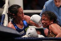 Boxeo 2014 Gallo Carolina Crespa Rodriguez vs Janeth ''Cuisilla'' Pérez