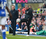 Chris Wilder manager of Sheffield Utd<br />  during the championship match at St Andrews Stadium, Birmingham. Picture date 21st April 2018. Picture credit should read: Simon Bellis/Sportimage