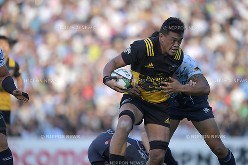 Hendrik Tui (), SEPTEMBER 2, 2017 - Rugby : Japan Rugby Top League 2017-2018 match between Suntory Sungoliath 27-24 Yamaha Jubilo at Prince Chichibu Memorial Stadium in Tokyo, Japan. (Photo by FAR EAST PRESS/AFLO)