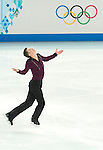 Jeremy Abbott of ISA competes in the Figure Skating Men Short Program during the 2014 Sochi Olympic Winter Games at Iceberg Skating Palace on February 6, 2014 in Sochi, Russia. Photo by Victor Fraile / Power Sport Images