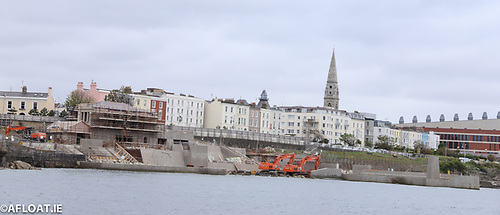 Dun Laoghaire Baths Project Under Construction July 2020