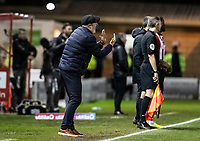 Bolton Wanderers' manager Keith Hill issues instructions<br /> <br /> Photographer Andrew Kearns/CameraSport<br /> <br /> The EFL Sky Bet League One - Lincoln City v Bolton Wanderers - Tuesday 14th January 2020  - LNER Stadium - Lincoln<br /> <br /> World Copyright © 2020 CameraSport. All rights reserved. 43 Linden Ave. Countesthorpe. Leicester. England. LE8 5PG - Tel: +44 (0) 116 277 4147 - admin@camerasport.com - www.camerasport.com