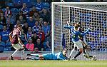 Genero Zeefuik scores a consolation goal for Hearts