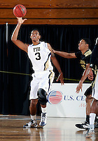 Florida International University guard-forward Dominique Ferguson (3) plays against Alabama State University, which won the game 60-57 on December 3, 2011 at Miami, Florida. .