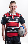 Hong Kong Junior Squad team member Elliot Croft poses during the Official Photo Session Day at King's Park Sports Ground ahead the Junior World Rugby Tournament on 25 March 2014. Photo by Andy Jones / Power Sport Images