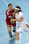 Zubai vs Hansen. DENMARK vs HUNGARY: 28-26 - Quarterfinal.