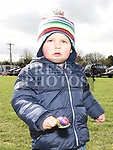 Kyle Guerra in the egg and spoon race at the East Meath United Easter Egg hunt. Photo:Colin Bell/pressphotos.ie