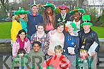 Having fun at at the Killarney Outlet Centre St Patricks day funday on Saturday was front row l-r: Stephen Robson, Temi Gooden, Kieran O'Connor, Luke O;Callaghan. Middle row: Ninfa Robson, Katie Mai Moloney, Amy O'Connell, Jack Breen, Michael Robson. Back row: Margaret Scully, Richard Poff, Elethya Gooden, Michael Coffey and Sumesta Batson..