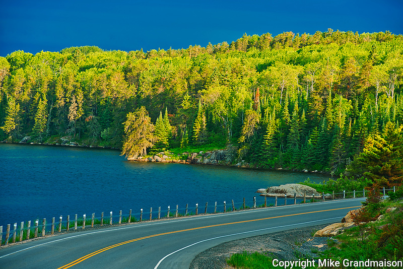 Blindfold Lake and Highway 71<br />