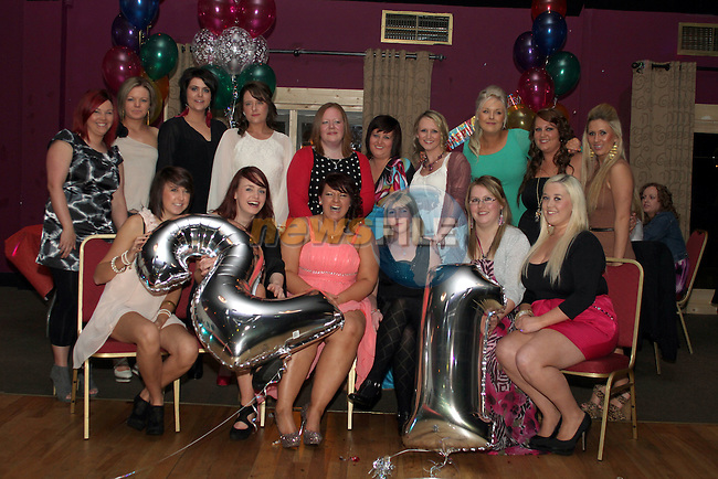 Nicola Duffy at her 21st in The Star and Crescent....(Photo credit should read Jenny Matthews www.newsfile.ie)....This Picture has been sent you under the conditions enclosed by:.Newsfile Ltd..The Studio,.Millmount Abbey,.Drogheda,.Co Meath..Ireland..Tel: +353(0)41-9871240.Fax: +353(0)41-9871260.GSM: +353(0)86-2500958.email: pictures@newsfile.ie.www.newsfile.ie.