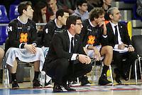 F. Katsikaris. FC Barcelona Regal vs Uxue Bilbao Basket
