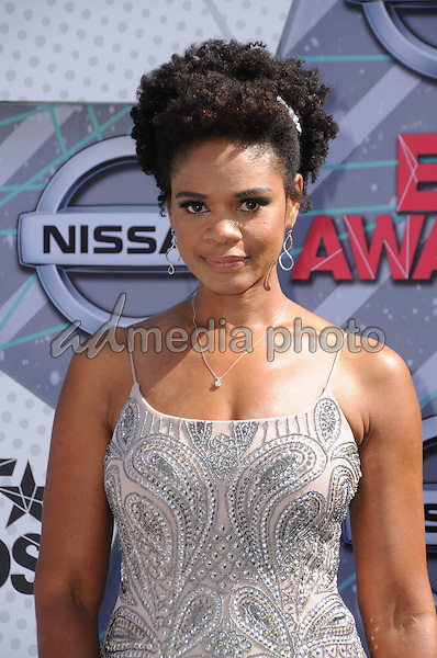 26 June 2016 - Los Angeles. Kimberly Elise. Arrivals for the 2016 BET Awards held at the Microsoft Theater. Photo Credit: Birdie Thompson/AdMedia