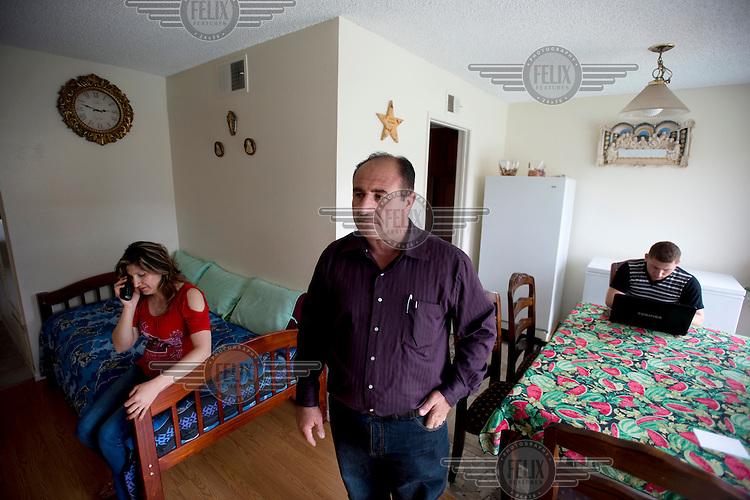 Naseer Shamasha, his wife Hiam Dosha and their family are Iraqi