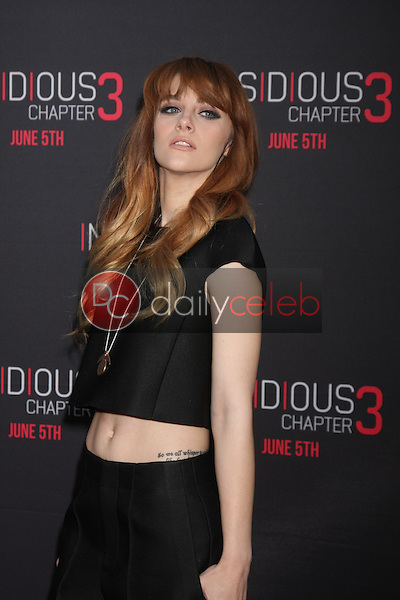 Aubrey Peeples at the &quot;Insidious Chapter 3&quot; Premiere, TCL Chinese Theater, Hollywood, CA 06-04-15<br /> David Edwards/DailyCeleb.com 818-249-4998