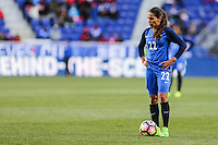 HARRISON, NJ, 04.03.2017 - FRANÇA-ALEMANHA - Amel Majri jogadora da França durante partida contra a Alemanha valido pelo 2017 She Believes Cup na cidade de Harrison em New Jersey neste sábado, 4. (Foto: Vanessa Carvalho/Brazil Photo Press/Brazil Photo Press)