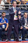 P.R. Cartagena coach Juan Carlos Guillamon during Futsal Spanish Cup 2018 at Wizink Center in Madrid , Spain. March 16, 2018. (ALTERPHOTOS/Borja B.Hojas)