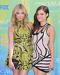 Ashley Benson and Lucy Hale at The Fox 2011 Teen Choice Awards held at Gibson Ampitheatre in Universal City, California on August 07,2010                                                                               © 2011 Hollywood Press Agency