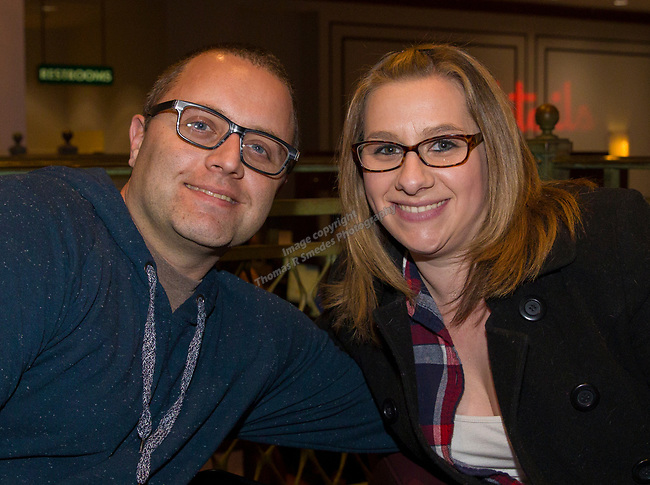 Mike Brown and Katie Barnes at the IMomSoHard show on Saturday, March 3, 2018 at the Silver Legacy Resort Casino.