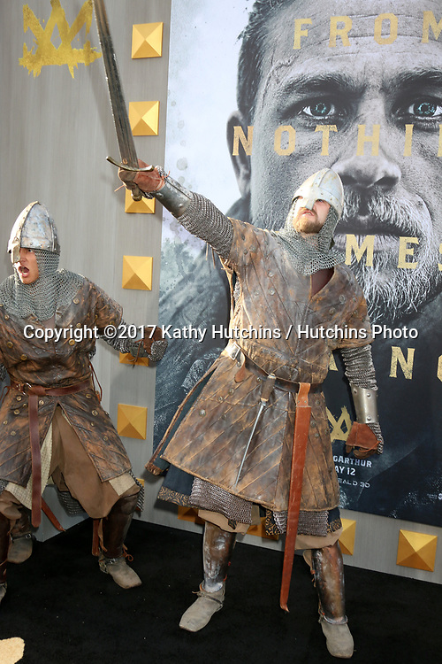 "LOS ANGELES - MAY 8:  Atmosphere at the ""King Arthur Legend of the Sword"" World Premiere on the TCL Chinese Theater IMAX on May 8, 2017 in Los Angeles, CA"