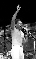 Al Jarreau performing 7.5.84 Boston, MA