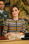 Queen Letizia of Spain during the council meeting of the Royal Board on Disability at Zarzuela Palace in Madrid, October 05, 2015.<br /> (ALTERPHOTOS/BorjaB.Hojas)