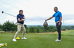 Geoff Swain doing trick shots  <br /> <br /> Celebrity Cup 2019 - Golf - Celtic Manor resort - Saturday 13th July 2019 - Newport<br /> <br /> © www.fotowales.com- PLEASE CREDIT IAN COOK
