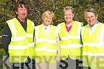 Kenmare Tidy Towns are drawing up a three plan plan to continue their success in the Tidy Towns competition following the retention for the 10th year of a gold medal for the town as well as a further three point increase. .L-R Eileen Daly, Maureen Finnegan, Noel Crowley and Ann Browne