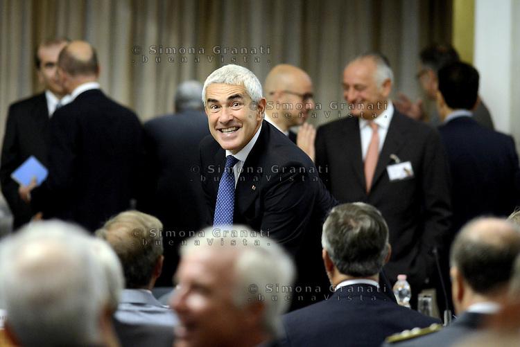 Roma, 27 Luglio 2015<br /> Pier Ferdinando Casini.<br /> XI Conferenza degli Ambasciatori d'Italia presso il Ministero degli Esteri