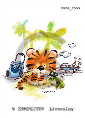 GIORDANO, CHILDREN BOOKS, BIRTHDAY, GEBURTSTAG, CUMPLEAÑOS, humor, paintings+++++,USGI2555,#BI#,#H# ,everyday ,everyday