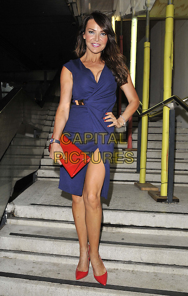 LONDON, ENGLAND - JULY 16: Lizzie Cundy attends the Attitude Magazine's World Sexiest Men 2014 summer party, The Paramount Club, 31st floor, Centre Point, New Oxford St., on Wednesday July 16, 2014 in London, England, UK.<br /> CAP/CAN<br /> &copy;Can Nguyen/Capital Pictures