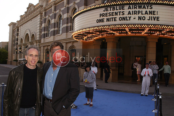 Jerry Zucker and Robert Hays<br />