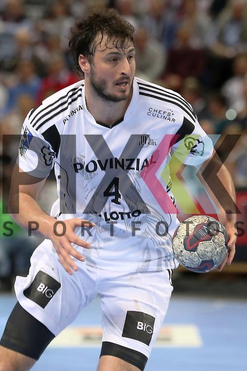 Kiel, 20.05.15, Sport, Handball, DKB Handball Bundesliga, Saison 2014/2015, THW Kiel - GWD Minden : Domagoj Duvnjak (THW Kiel, #04)<br /> <br /> Foto &copy; P-I-X.org *** Foto ist honorarpflichtig! *** Auf Anfrage in hoeherer Qualitaet/Aufloesung. Belegexemplar erbeten. Veroeffentlichung ausschliesslich fuer journalistisch-publizistische Zwecke. For editorial use only.