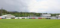 Trainingsplatz in der Sportzone Rungg, dem Trainingslager der Deutschen Nationalmannschaft zur WM-Vorbereitung - 20.05.2018: Trainingslager der Deutschen Nationalmannschaft zur WM-Vorbereitung in Eppan/Südtirol