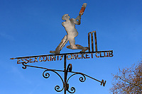 The Essex Cricket Club weather vane during Essex CCC vs Durham MCCU, English MCC University Match Cricket at The Cloudfm County Ground on 3rd April 2017