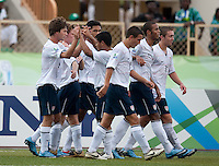 US Under 17 Men's National Team. US Under-17 Men's National Team defeated United Arab Emirates 1-0 at Gateway International  Stadium in Ijebu-Ode, Nigeria on November 1, 2009.