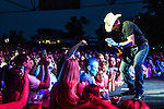 Brad Paisley at Riverbend Music Center in Cincinnati, Ohio.