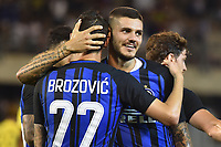 Esultanza Gol Marcelo Brozovic con Mauro Icardi Inter Goal celebration <br /> San Benedetto del Tronto 06-08-2017 <br /> Football Friendly Match  <br /> Inter - Villarreal Foto Andrea Staccioli Insidefoto