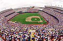 CIRCA 1993:  General view overall of the Colorado Rockies franchise opener at Mile High Stadium in Denver Colorado, home of the Colorado Rockies. (Photo by: 1993 : SportPics : Mile High Stadium